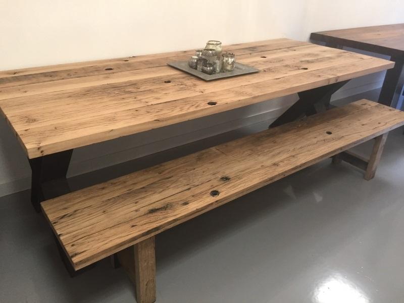 Stoere Meubels Alkmaar : Oud eiken wagonplanken tafels en meubels ook losse planken